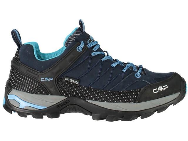 CMP Campagnolo W's Rigel Low WP Trekking Shoes Black Blue-Clorophilla